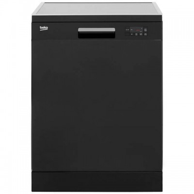 Beko DFN16R10B Standard Dishwasher - Black