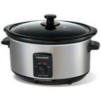Morphy Richards 3.5L Slow Cooker - Stainless Steel