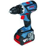 Bosch GSR 18 V-60 C Professional Connected 18V Drill/Driver with 2x5.0Ah Batteries and L-BOXX