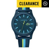 Lacoste Men's 12.12 Blue Nylon Strap Watch