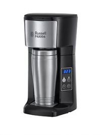 Russell Hobbs Brew and Go Coffee Machine with Travel Cup-22630