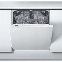 Whirlpool WIC3C26UK Fully Integrated Standard Dishwasher - White Control Panel with Fixed Door Fixing Kit - A++ Rated