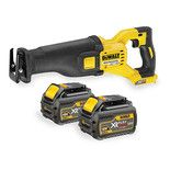 DeWalt XR Flexvolt DCS388T2 54V Reciprocating Saw with 2x6.0Ah Batteries
