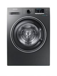 Samsung WW70J5555EX/EU 7kgLoad, 1400 Spin Washing Machine with ecobubble™Technology and 5 Year Samsung Parts and Labour Warranty - Graphite