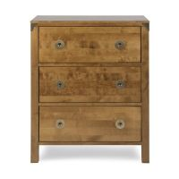 Balmoral Honey 3 Drawer Chest