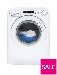 Candy GVSW485DC8kgWash, 5kg Dry, 1400 Spin Washer Dryer with Smart Touch - White