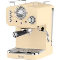 Swan Retro SK22110CN Espresso Coffee Machine - Cream