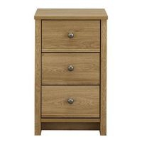 Amberley 3 Drawer Cream Narrow Chest