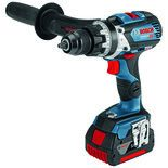 Bosch GSB 18 V-85 C Professional 18 V Combi Drill/Driver with 2x5.0Ah Batteries and L-BOXX
