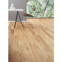 Style Country Light Oak Solid Wood Flooring - 1.44m2 Pack