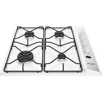 Hotpoint PAS642HWH 58cm Four Burner Gas Hob White