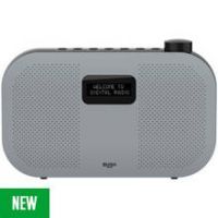 Bush Portable Stereo DAB Radio - Grey
