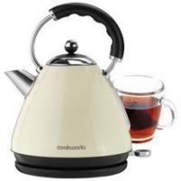 Cookworks Pyramid Kettle - Almond