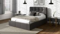 Dorado Faux Leather Bed Frame