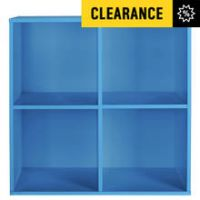 HOME Phoenix 4 Cube Storage Unit - Blue