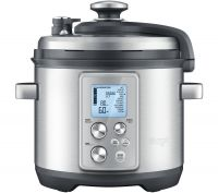 SAGE by Heston Blumenthal Fast Slow Pro Pressure/Slow Cooker - Stainless Steel, Stainless Steel