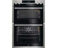 AEG DCS431110M Electric Double Oven - Stainless Steel