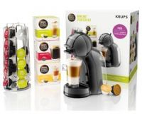 DOLCE GUSTO by Krups Mini Me KP128BUN Coffee Machine Starter Kit - Black & Grey