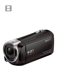 Sony HDR-CX405 Full HD Handycam Camcorder - Black