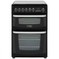 Cannon by Hotpoint Harrogate CH60DHKFS Dual Fuel Cooker - Black - B Rated