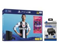SONY PlayStation 4 Pro with FIFA 19 & Twin Docking Station Bundle