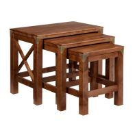 Balmoral Cherry Nest Of 3 Tables