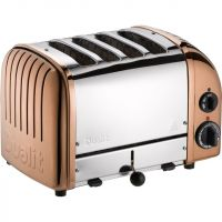 Dualit Classic 47450 4 Slice Toaster - Copper