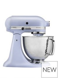 KitchenAid Limited Edition Artisan 4.8-Litre Stand Mixer in Matte Lavender with Hammered Steel Bowl