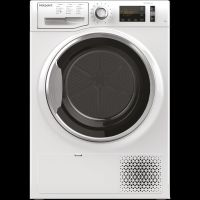 Hotpoint ActiveCare NTM1182XBUK 8Kg Heat Pump Tumble Dryer - White - A++ Rated