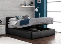 Yardley Faux Leather Upholstered Ottoman Bed Frame