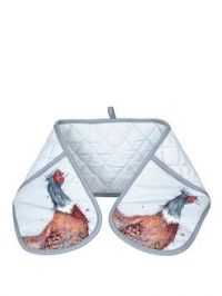 Royal Worcester Wrendale Double Oven Glove - Pheasant
