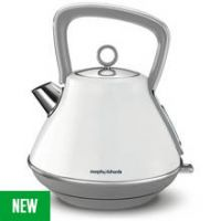 Morphy Richards 100109 Evoke Pyramid Kettle - White