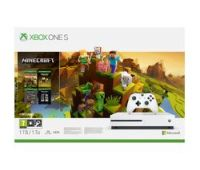 MICROSOFT Xbox One S with Minecraft Holiday Edition