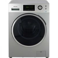 Hisense P Series WFP8014VS 8Kg Washing Machine with 1400 rpm - Silver - A+++ Rated