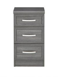 Camberley 3 Drawer Graduated Bedside Chest