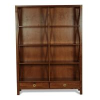 Balmoral Chestnut Double Bookcase