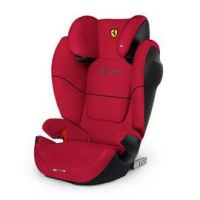 Cybex Solution M-Fix SL Scuderia Ferrari Car Seat - Red