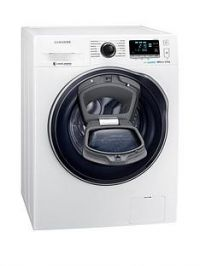 Samsung WW80K6610QW/EU 8kg Load, 1600 Spin AddWash™ Washing Machine with ecobubble™ Technology - White, 5 Year Samsung Parts and Labour Warranty
