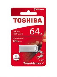 Toshiba 64GB USB 3.0 Flash Drive - Metal