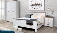 Genoa White Bed Frame Package Deal
