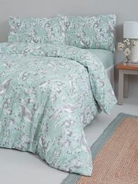 Everyday Collection Bird Floral Complete Bed Set