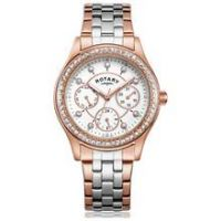 Rotary Ladies' Rose Two Tone Multi Dial Watch