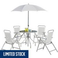 Simple Value 4 Seater Metal Patio Set