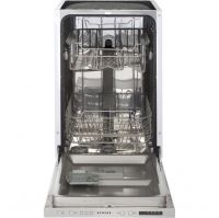 Stoves SDW45 Fully Integrated Slimline Dishwasher - Silver Control Panel - A++ Rated