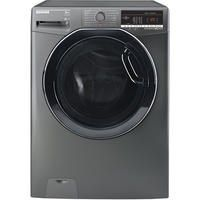 Hoover DXOA58AK3R Dynamic Next Advance 8kg 1500rpm Freestanding Washing Machine With One Touch - Gra