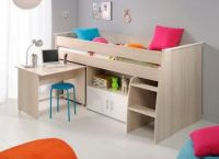 Fincham Mid Sleeper With Pull Out Desk
