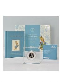 Royal Mint Peter Rabbit Silver Proof 50P Coin & Book Set