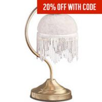 HOME Alabama Touch Table Lamp - Brass