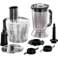 Russell Hobbs Desire 24732 1.5 Litre Food Processor With 6 Accessories - Black