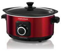 MORPHY RICHARDS Evoke Sear & Stew 460014 Slow Cooker - Red
